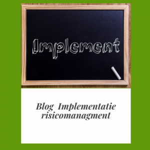Implementatie risicomanagement