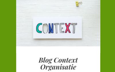 Context van de organisatie